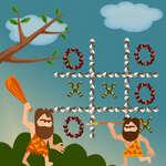Tic Tac Toe Stone Age game