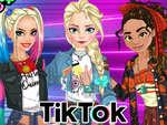 Princesa Tik Tok juego