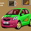Toyota Yaris auto colorazione gioco
