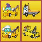 Tow Trucks Memory game