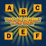 Berühren Sie das Alphabet in der Oder Spiel