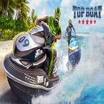 Top barca de apă Jet Sky Simulator Racing 3D joc