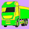 Transport car coloring game
