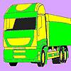 Közlekedési autó színező játék