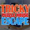 Knifflige Puzzle House Escape Spiel