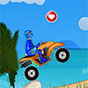 Raza tropical de ATV juego