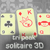Tri Peak Solitaire 3D game
