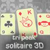 игра Три пика пасьянс 3D