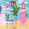 Tropical Girl Dress Up game