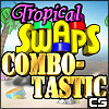 Tropical Swaps - Combotastic game
