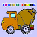 Trucks Coloring Book game