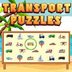 Rompecabezas de transporte juego