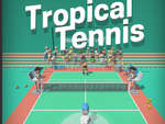Tropical Tennis game