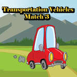 Transportation Vehicles Match 3 game