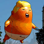 Trump Flying Adventure game