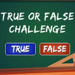 True or False Challenge game