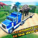 Transportan dinos al zoológico de Dino juego