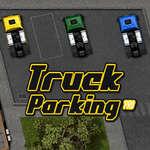 Estacionamiento de camiones juego