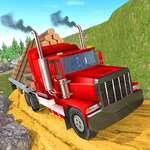 Römork Kargo Kamyonu Offroad Transporter oyunu