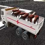 LKW-Transport Haustiere Spiel