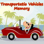 Közlekedési járművek memóriája játék