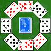 игра Два кольца пасьянс