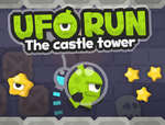 UFO Run The castle tower game