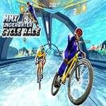 Podvodné cyklistické pretekárske dráhy BMX Impossible Stunt hra