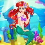 A Kis Hableány víz alatti odüsszeiái játék