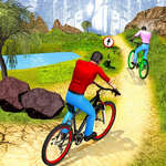 Jazdec na bicykli Do kopca Offroad hra