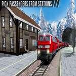 Uphill Station Bullet Tren de pasajeros Drive Juego