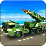Сащ армия ракетна атака армия камион шофиране игри