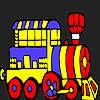 игра Отпуск поезд окраски