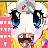 San Valentino ragazza al dentista gioco