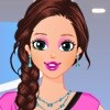 Valentine Style Queen Dress Up game