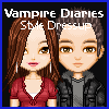 Vampire Diaries stílusú ruha játék