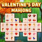 Valentines Day Mahjong game