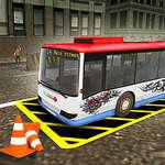 Симулатор за паркиране на автобуси на автомагистрала Вегас Сити игра
