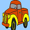 Village truck coloring game
