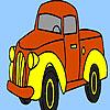 Село камион оцветяване игра