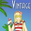 Vintage strand játék