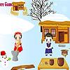 Dorf Familie design Spiel