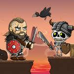 Vikingek vs csontvázak játék