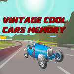 Vintage Cool Cars Memory game