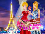 VIP Princesses Paris Fashion Week game