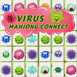 Virus Mahjong Connection game