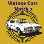 Vintage Cars Match 3 game