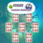 Virus Cards Memory game
