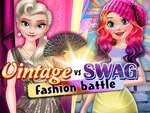 Реколта срещу Swag моден битка игра
