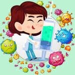 Vírus buborék shooter játék